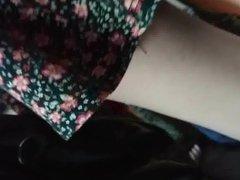Tan Pantyhose With White Legs