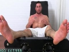 Gay sex big man Casey More Jerked & Tickled