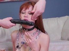 Teen rope bondage Slavemouth Alexa