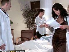 Brazzers - Doctor Adventures -  Genital Hospital scene starr