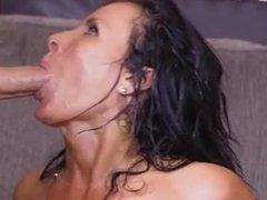 Stepmom gets two warm jizzloads into her mouth