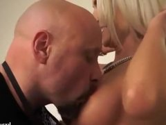 Nice german milf with perfect tits gets a good hard fuck