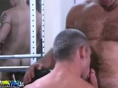 Awesome Threesome At The Gym