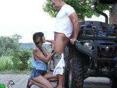 Anal sex on the farm