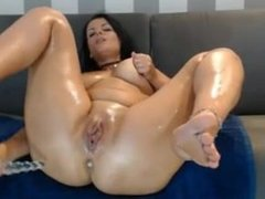 Hot mama fuck her pussy and ass so good