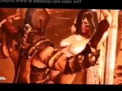 Mileena in MK X have sex