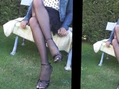 my  pantyhose platino cleancut with jean style