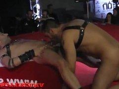 Turbo Leon y Manuperronash gay fuck on stage SEM 2015