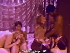 Interracial Swingers Fucking Orgy (1960s Vintage)