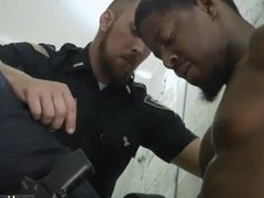 Boy gay sex hunks Fucking the white police
