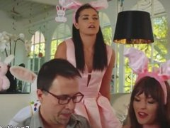 Family strokes french maid hot daddy