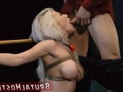Strapon bondage hd Big-breasted towheaded