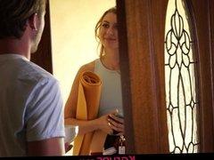 Karups - Alexa Grace Fucking Her Boyfriends Roommate