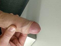 My german uncut cock, stroking and cumshot
