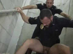 Police hunks fuck gay Fucking the white