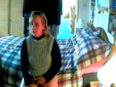 House sitter caught masturbating to porn again!