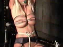 slave breast bondage