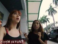 Extreme fist cam Stupid bitchy tourists