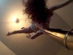 Pole Dance, seen from below !