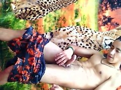 Porn Braids of Alex Torres VS Big  Cock