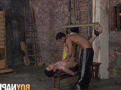 Alexis Tivoli gets ass smashed by big dicked David Paw