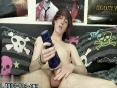 Huge cock in small ass very first time gay