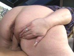 Chubby mature mom seduced by dirty boy