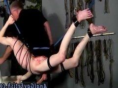 Bondage nude boys gay xxx Master Sebastian