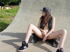 Masturbation at public skatepark