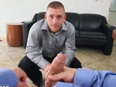 Glory hole cum addicts gay Keeping The Boss