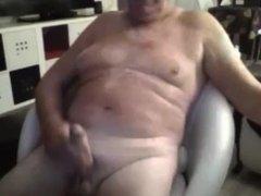 grandpa stroke on webcam