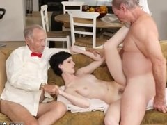 Daddy cums inside comrade's daughter and