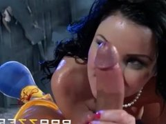 Veruca James Fucks The Shit Out Of A Clown -  Brazzers