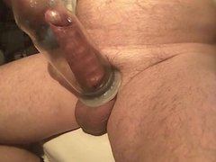 Penis pump homemade by Kater xxx - part 2