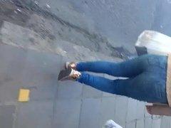 Novinha gostosa de jeans 2