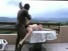 Hairy French wife hubby films