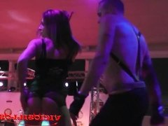 Pantera y Anthony erotic dance on the bar SEM 2015