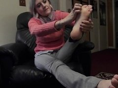 Ashley Self Foot Worship