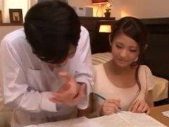 cute private teacher is so horny p2/4