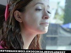 TLBC - Hot Skinny Teen Fucked By Massive Cock