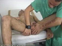 Gay men double anal penetration school sex