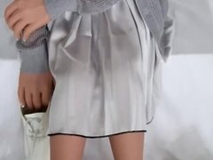 100cm mini Flat chest sex doll flat breast from j-suntech store