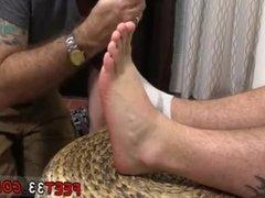 Male celebs feet exam gay Aaron Bruiser