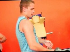 Bisexual Orgy at the Gym part 1