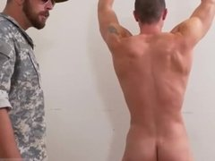 Military men wanking gay Extra Training for