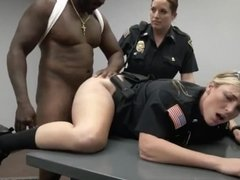Brunette milf gives handjob xxx Milf Cops