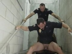 Police gay fully naked Fucking the white