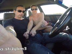 sex in the car on livecam for the voyeurs on my site