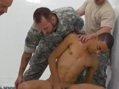 Tied down gay military porn R&R, the Army69