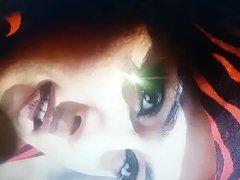 Anushka Shetty Spit and Cum Tribute Brutal Part 1